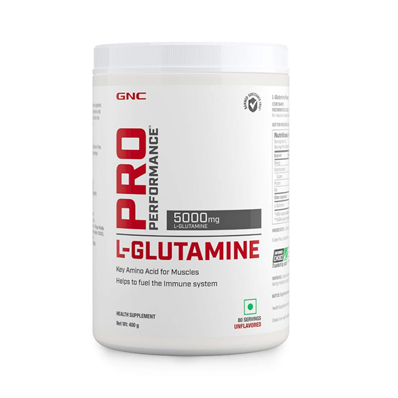 GNC PRO PERFORMANCE L-GLUTAMINE - 80 Servings