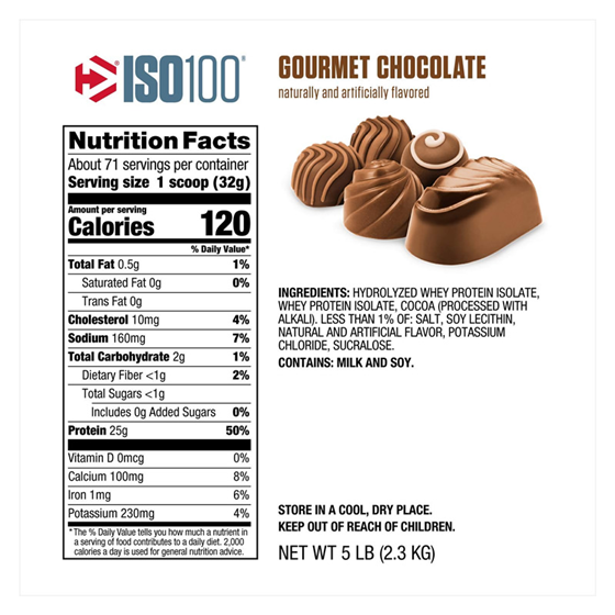 DYMATIZE ISO 100 - 5 Lbs