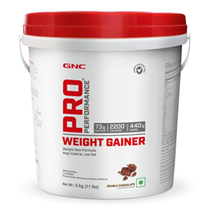 GNC Pro Performance Weight Gainer - 5 Kg (Double Chocolate)